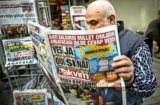 Ankara kämpft gegen die freie Presse