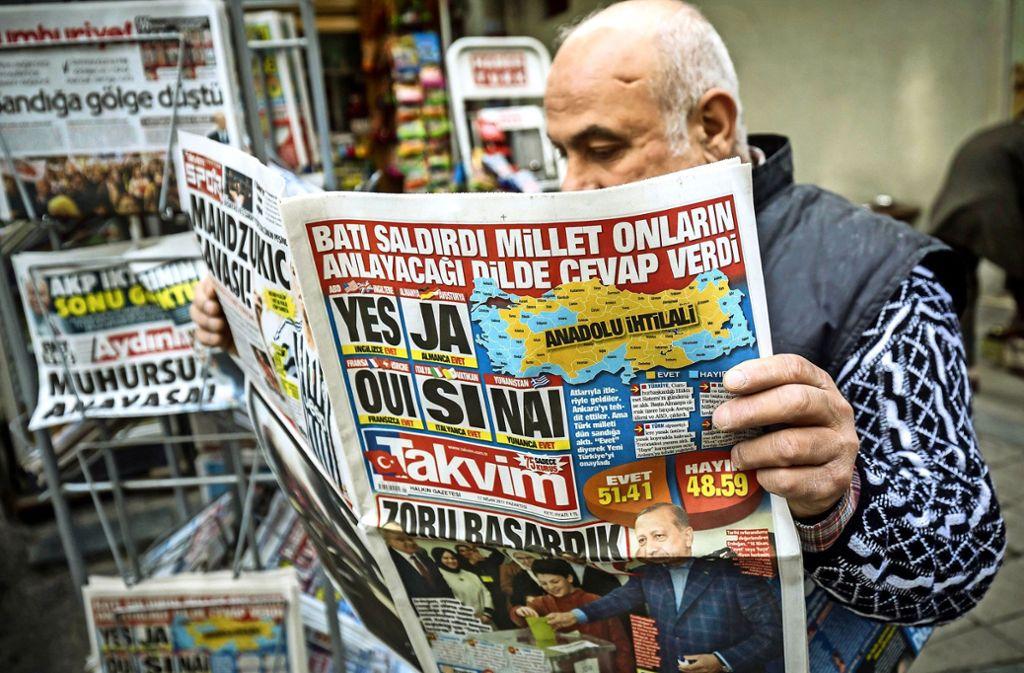 Der türkische Staat hat  Probleme mit der Rolle einer unabhängigen Presse. Foto: dpa