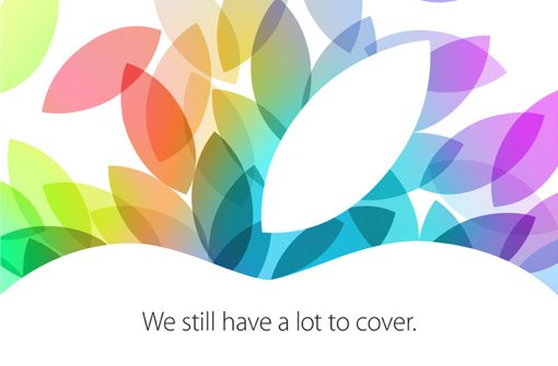 Apple-Event: iPad 5, iPad mini Retina und OS X Mavericks