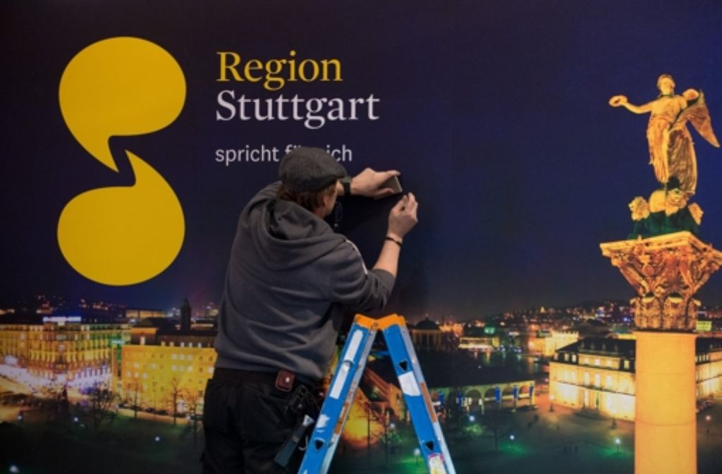 Ein bisschen mehr Glanz hätte die Region Stuttgart (hier bei der CMT) nötig. Foto: dpa