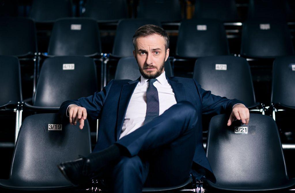 Jan Böhmermann hat es wieder getan – der Satiriker führt Deutschland virtuos am Nasenring. Foto: ZDF