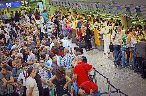 Zunehmendes Flugchaos nervt Passagiere