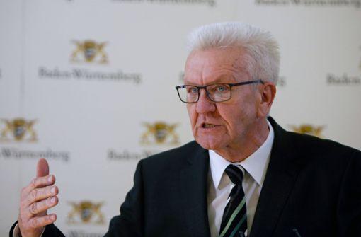 Winfried Kretschmann sieht keine Opferung der Freiheitsrechte