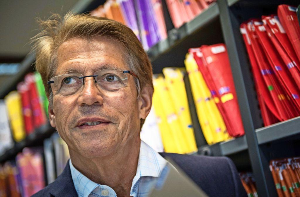 Vor Gericht: Rolf Gassmann, Chef des Stuttgarter Mietervereins Foto: Lichtgut