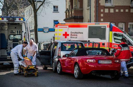 Drei Verletzte bei Crash