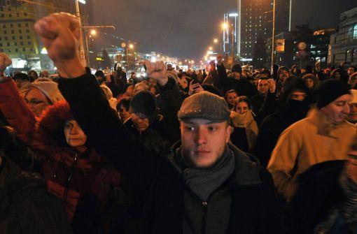 Die neue Wut  der Bosnier