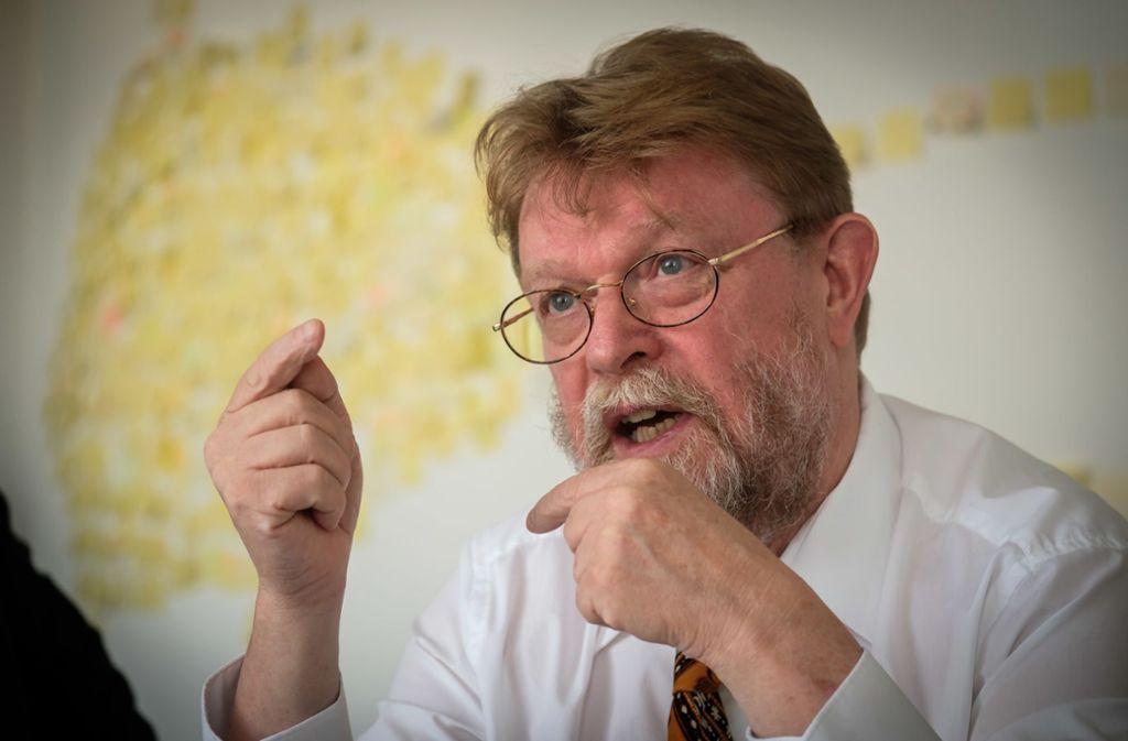 """""""Wir suchen Kompromisse"""", sagt Uwe Lahl. Foto: Lichtgut/Achim Zweygarth"""