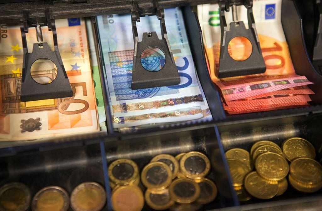Die Inflationsrate lag 2019 bei 1,4 Prozent. Foto: dpa/Jens Büttner