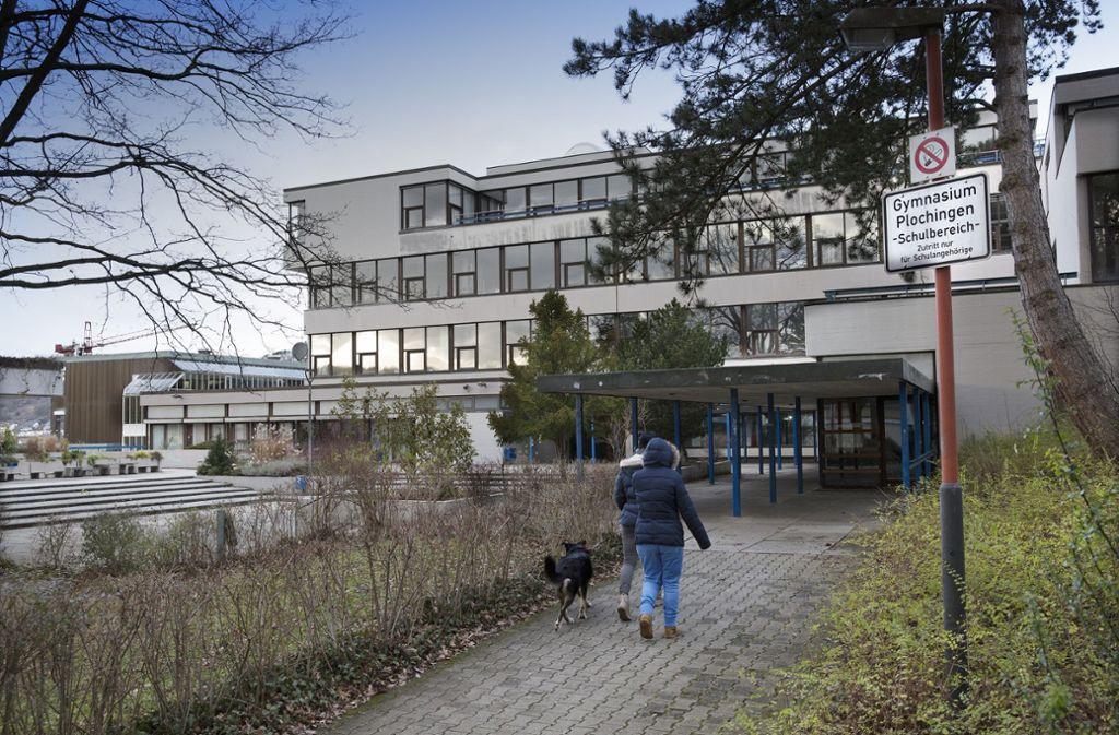 Das Gymnasium braucht nach 40 Jahren eine Runderneuerung. Foto: Ines Rudel