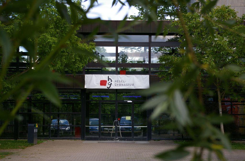 Die Freien Wähler fordern die Verwaltung auf, den Sanierungsstau am Hegel-Gymnasium aufzulösen und die Planungen für den Schulcampus voranzutreiben. Foto: Archiv Alexandra Kratz
