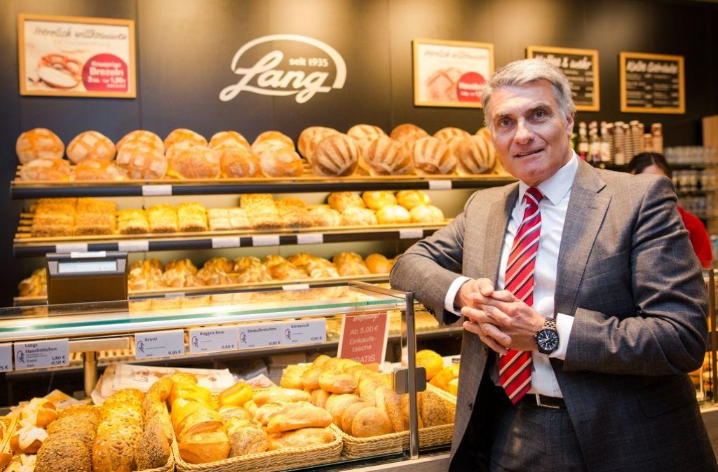 Wolfgang Steib, Geschäftsführer der Stuttgarter Bäcker Lang GmbH, will die Stuttgarter Bäckereikette wieder profitabel machen. Foto: dpa