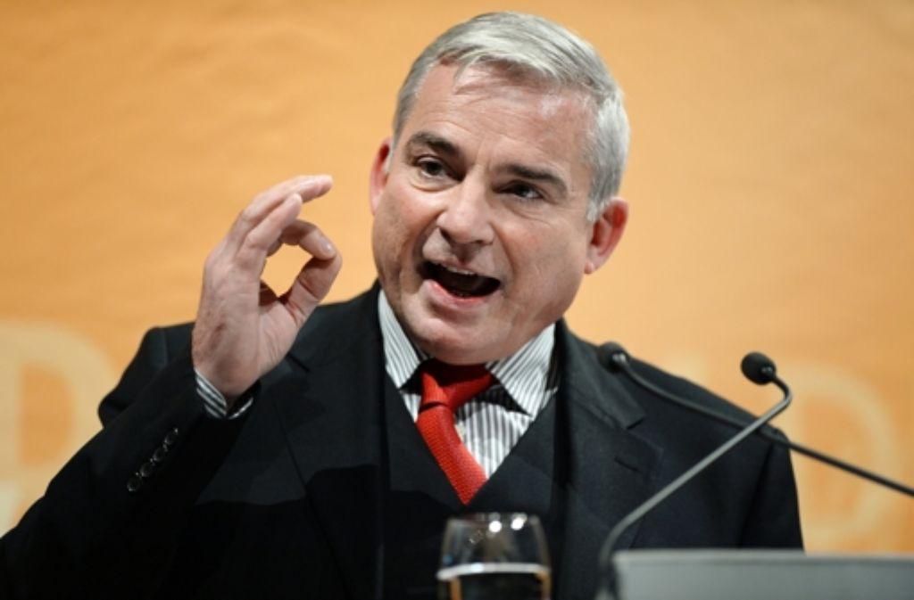 """CDU-Landeschef Thomas Strobl will """"die Augen nicht vor der Realität verschließen"""". Gerade bei Ermittlungen gegen Kinderpornografie sei die Vorratsdatenspeicherung  sinnvoll. Foto: dpa"""