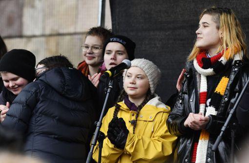 Klima-Aktivistin nimmt mehrere Termine in Deutschland wahr