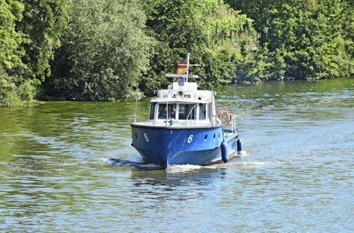 Der Neckar ist  ihr Revier