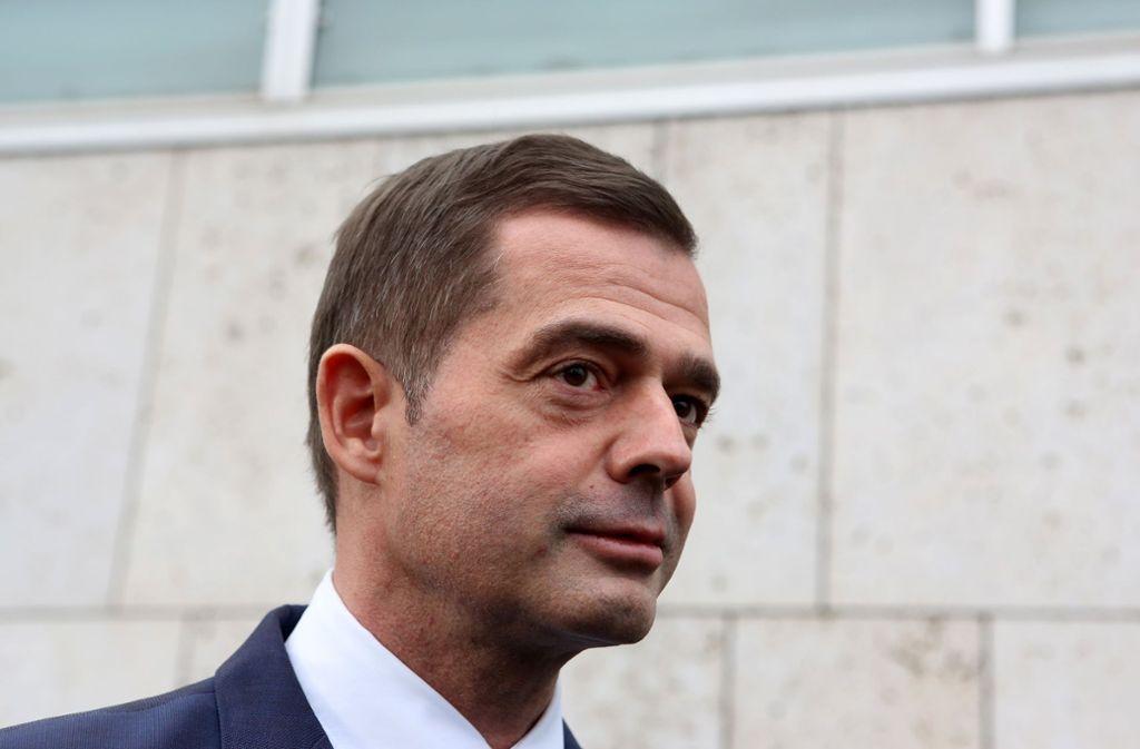 Mike Mohring (CDU) hat seinen Rückzug als Landesparteichef angekündigt. Foto: AFP/ADAM BERRY