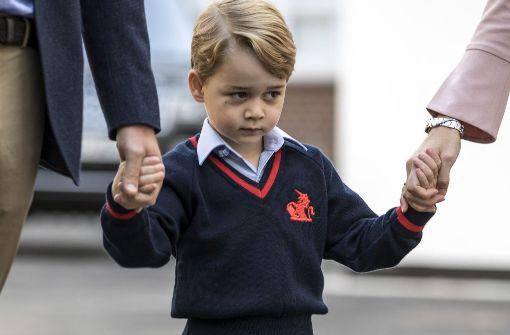 Kleiner Royal kommt ins Fernsehen