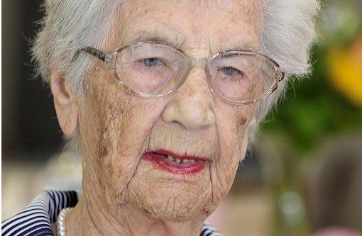 Älteste Stuttgarterin wird  107