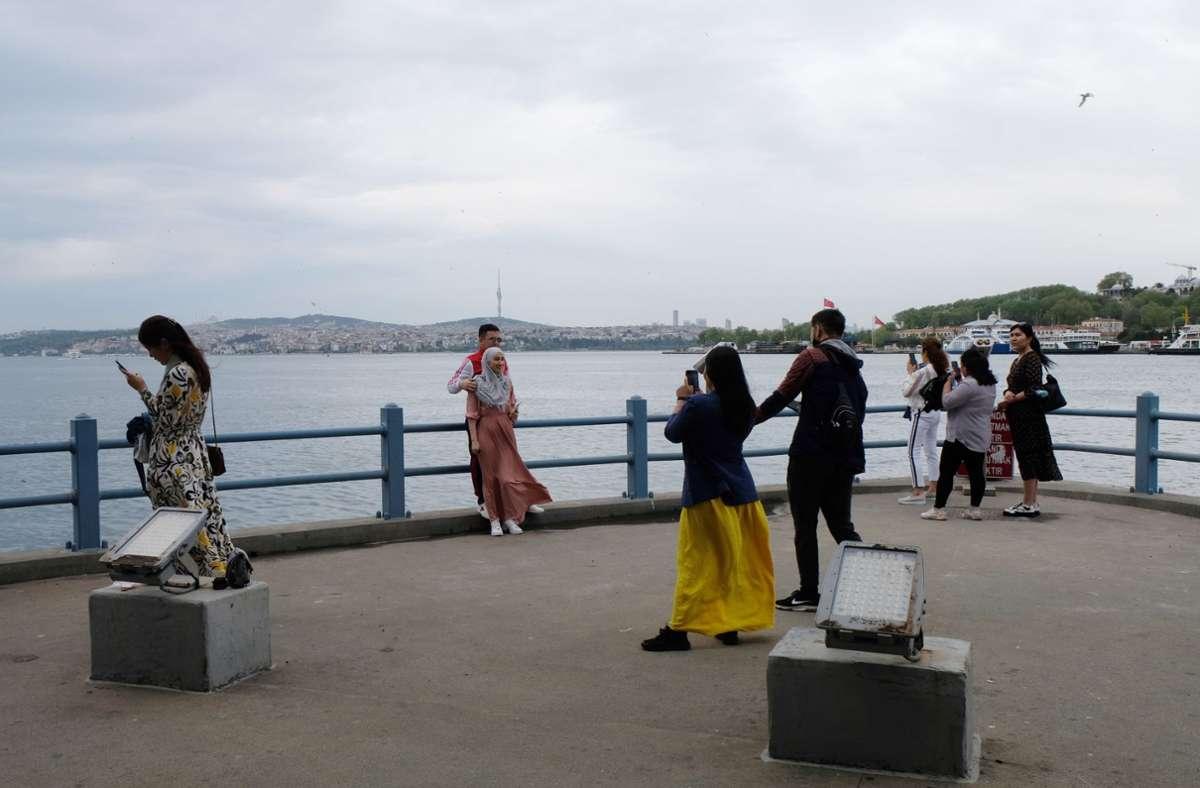 Touristen sind in der Türkei von Ausgangsbeschränkungen ausgenommen. Foto: dpa/Mirjam Schmitt