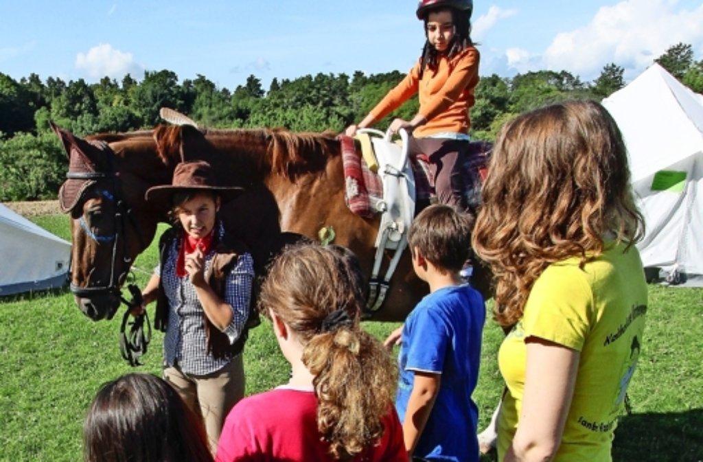 Im echten wilden Westen gibt's natürlich auch Pferde. Foto: factum/Bach