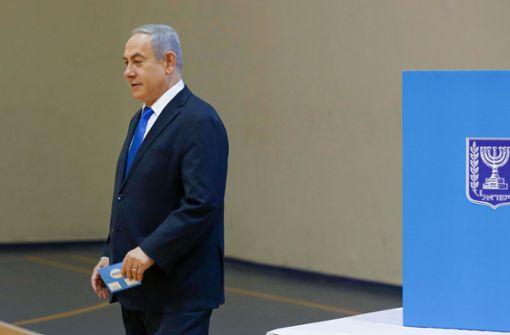 Benjamin Netanjahus Likud stärkste Kraft