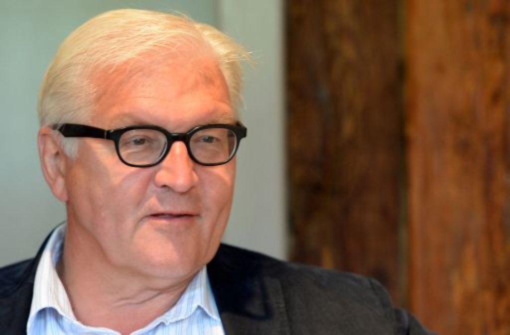 Deutschlands Außenminister Frank-Walter Steinmeier möchte neuen Schwung in die Beziehung zu Frankreich bringen. Foto: dpa
