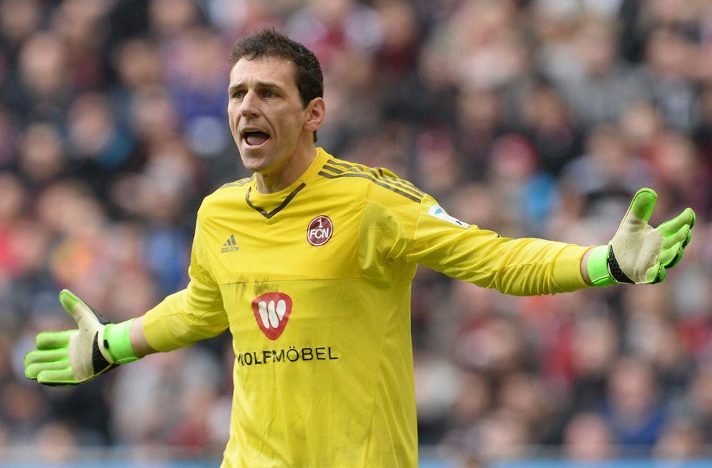 Torhüter Raphael Schäfer begann und beendete seine Zeit als Fußballprofi beim 1. FC Nürnberg. Foto: dpa/Andreas Gebert