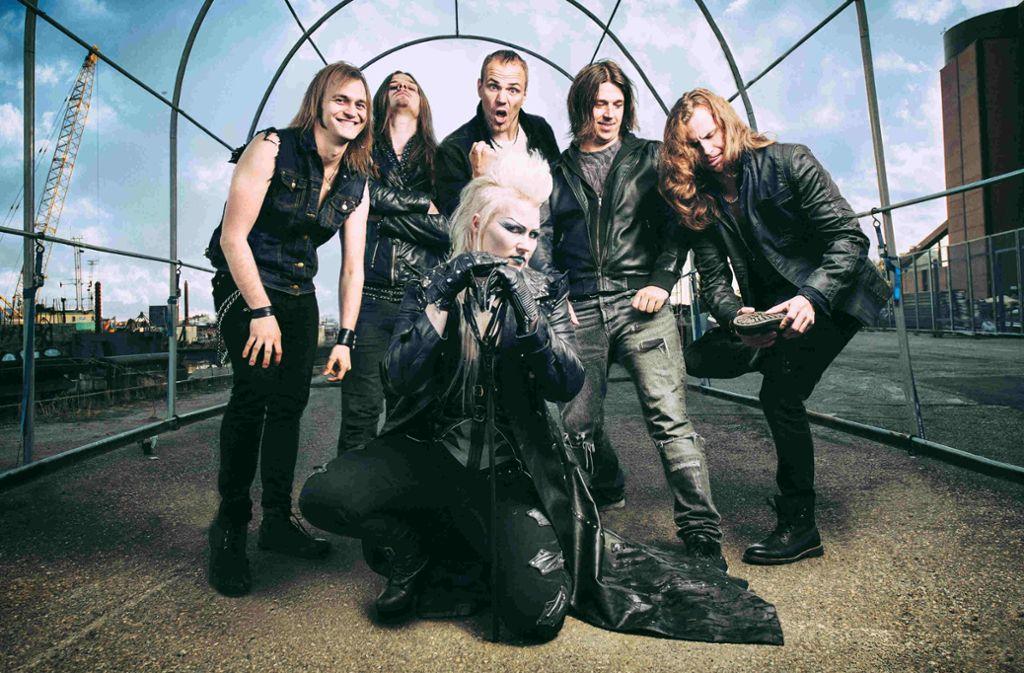 Battle Beast aus Finnland sind die Headliner des ersten Winnenden Goes Metal Festivals. Foto: Veranstalter