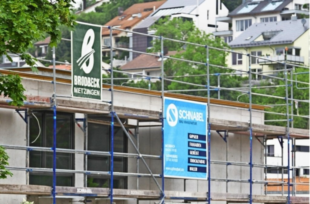 Der Neubau des Elly-Heuss-Knapp-Kindergartens ist fast fertig. Dort entsteht auch eine neue Tapir-Gruppe. Foto: factum/Granville