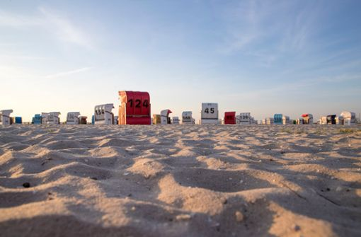 Wenn Strandkörbe die weiten Strände wieder bunt machen, ist wieder Sommer an der Nordsee!