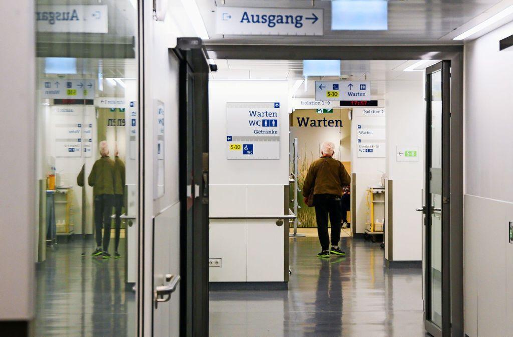 Nur in absoluten Ausnahmen dürfen Besucher in die RKH-Kliniken, Foto: factum//Simon Granville