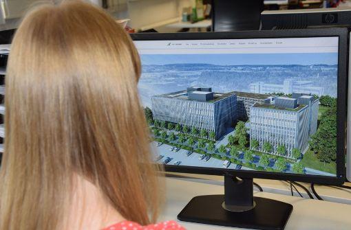 Am Schelmenwasen entstehen neue Büros