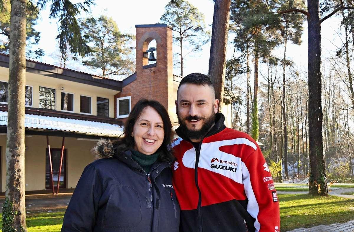 Sabine Walter und Jörg Siedler haben früher selbst die Waldheimwochen im Sommer genossen. Später waren sie im Waldheim Möhringen für die Kinder aktiv. Foto: Markmann (z)