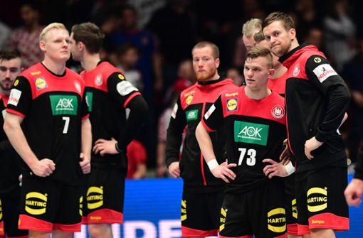 Gescheitertes deutsches Team will Charaktertest bestehen
