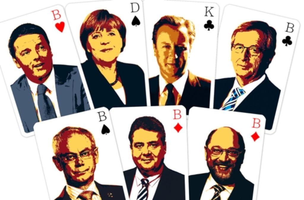 Politik gleicht manchmal einer Pokerpartie – wer hat am Ende die besten Karten? Foto: Alexander Kijak