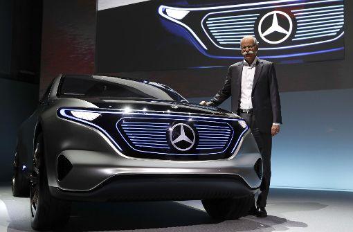 Mercedes baut  E-Autos in Rastatt