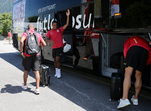 VfB in Mayrhofen angekommen
