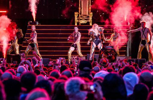 Christina Aguilera bringt Showbiz nach Stuttgart
