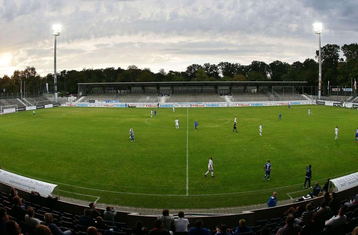 Bei den Stuttgarter Kickers gibt es zwei Coronafälle. Foto: Pressefoto Baumann/Hansjürgen Britsch