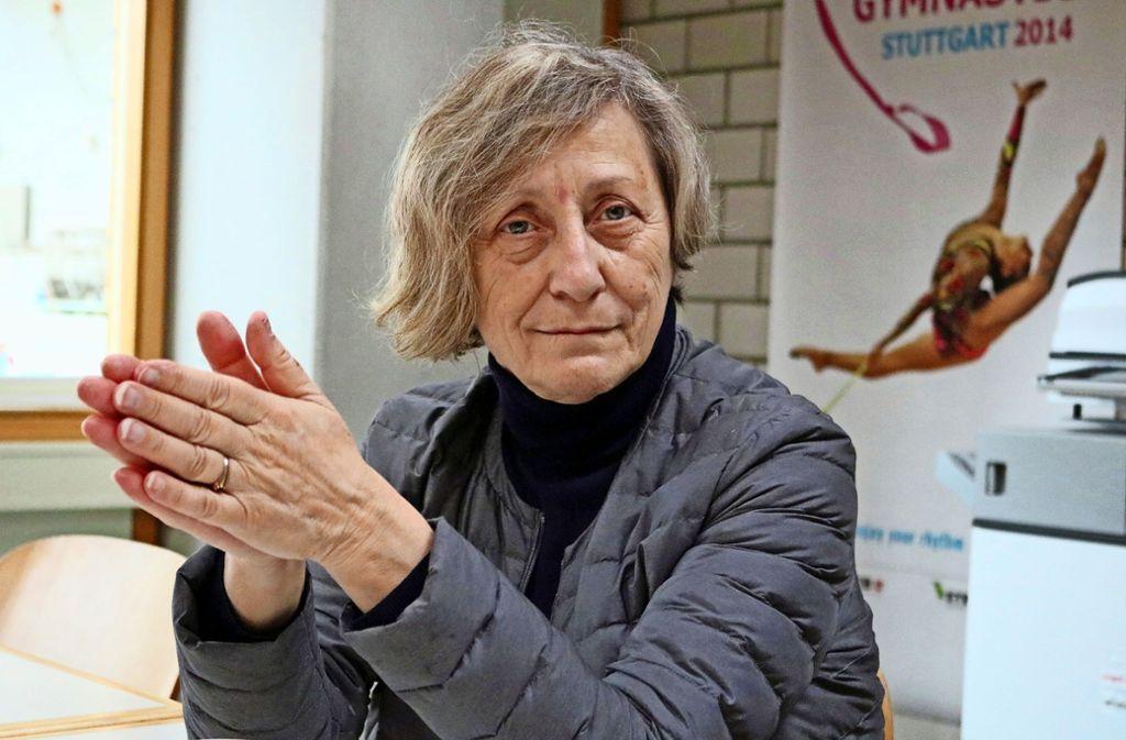 Die Bulgarin Neshka Robeva ist seit Anfang Februar für die deutsche Nationalgruppe verantwortlich. Foto: Eva Herschmann