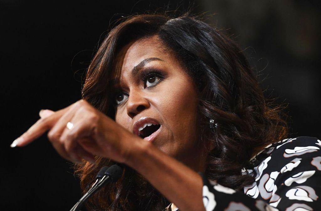 Michelle Obama gibt in ihrem Buch Einblicke in ihr Privatleben. Foto: AFP