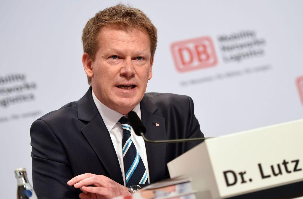 Seine Ernennung am Mittwoch gilt als sicher: Richard Lutz soll neuer Bahn-Chef werden. Foto: dpa
