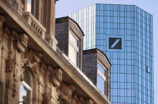 Nicht mehr so glanzvoll wie einst: die Zentrale der Deutschen Bank in Frankfurt am Main Foto: HR