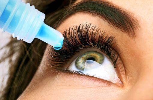 Was tun gegen  trockene Augen?