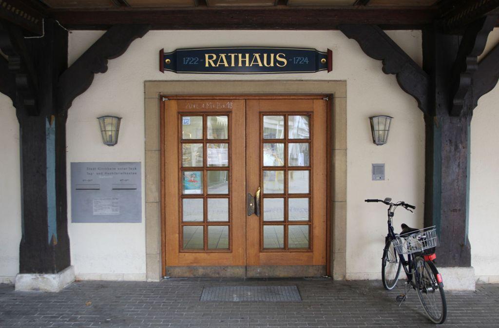 Die Verwaltung in Kirchheim sieht keinen Grund für eine Wahlanfechtung. Foto: stz