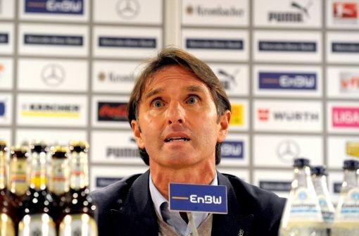 VfB-Trainer Bruno Labbadia rastet aus