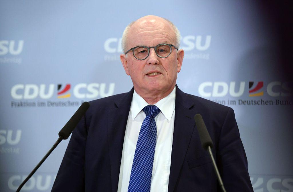 Wichtig für die Südwest-CDU in Berlin:  Volker Kauder (Foto). Genau wie Annette Widmann-Mauz und  Wolfgang Schäuble. Foto: dpa