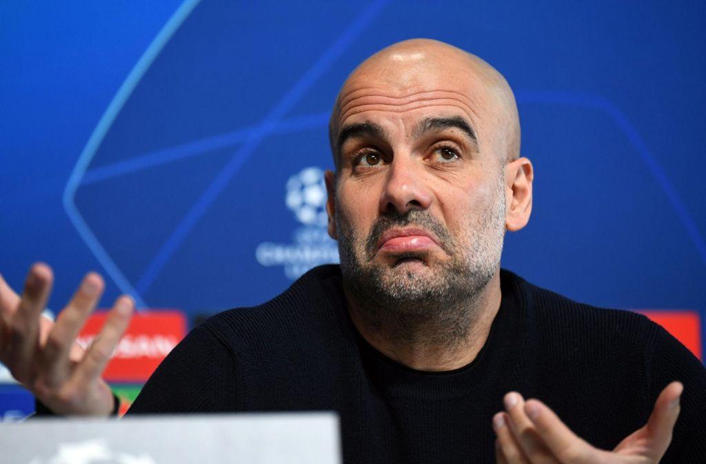 Kommt Pep Guardiola wieder zurück zum FC Bayern? Foto: dpa/Ina Fassbender