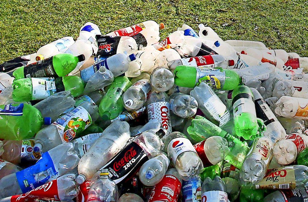 Auch Deutschland versinkt im Plastikmüll.Foto:dpa Foto: