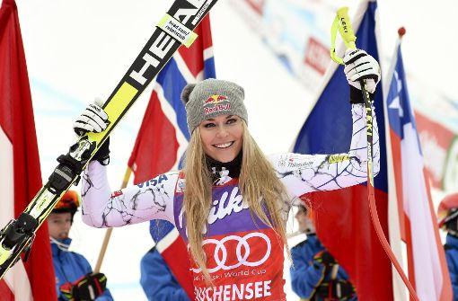Das Lächeln ist zurück: Lindsey Vonn bereichert wieder den Ski-Zirkus. Foto: AP
