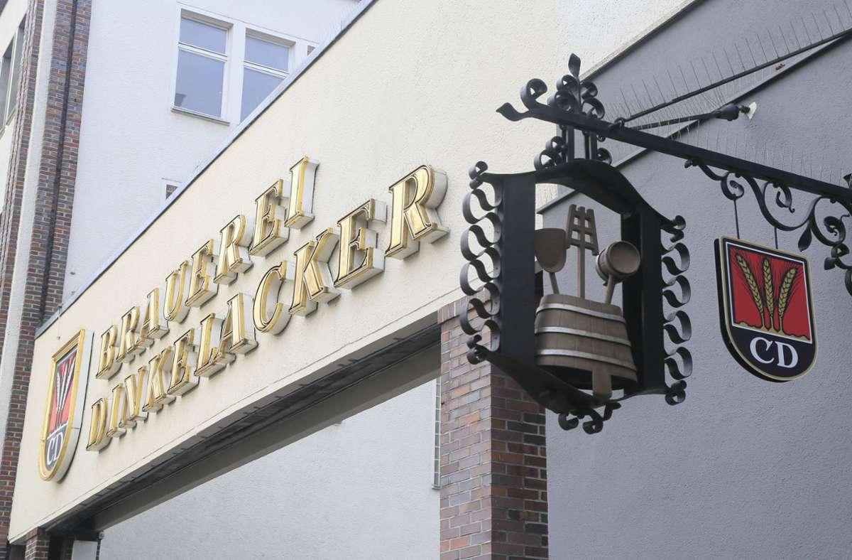 Dinkelacker freut sich auf die Relegation – und ein Duell mit Becks. Foto: imago/Peter Seyfferth